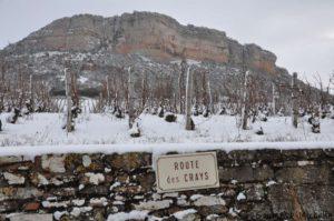 Les Crays sous la neige